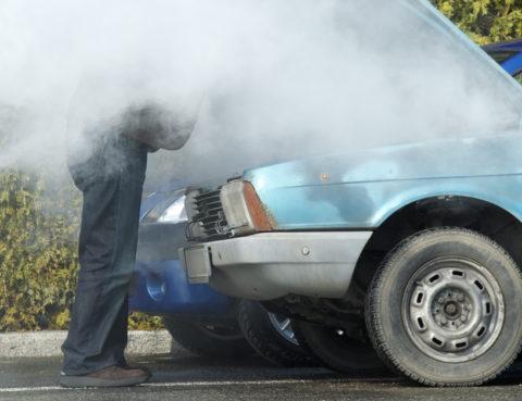 overheat car