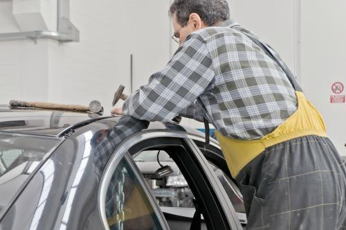 hail damage repair in Olathe, KS - Newman's Auto Body & Repair